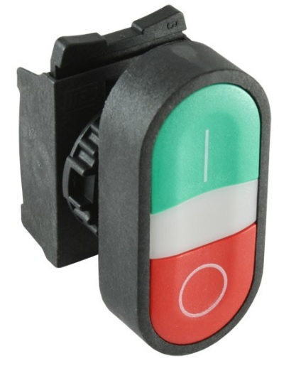 Two Way, Start / Stop Combo push button switches