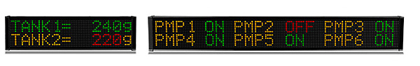 ViewMarq Two Line Message Displays