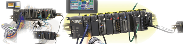 dl205 modular PLC