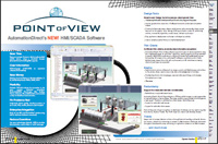 Point of View SCADA / HMI Software Features