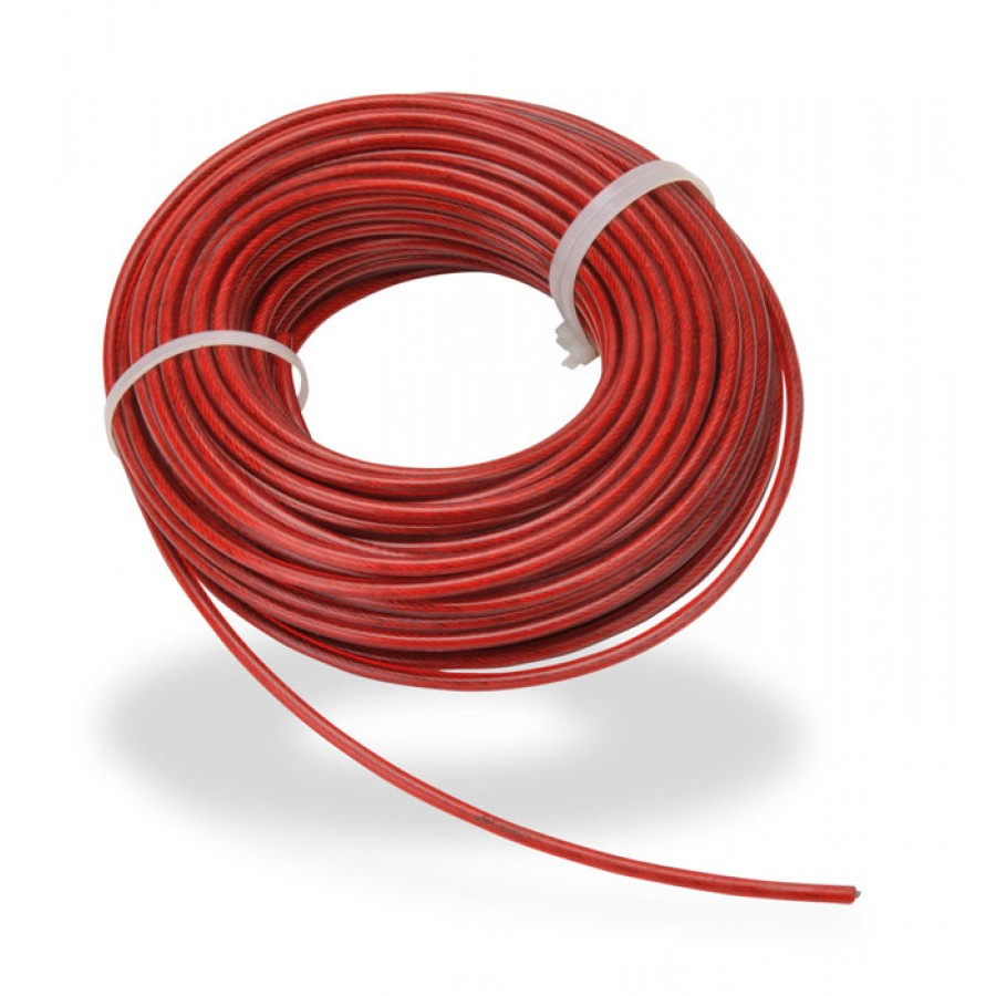 STEEL CABLE 30m (98ft) 4mm DIA