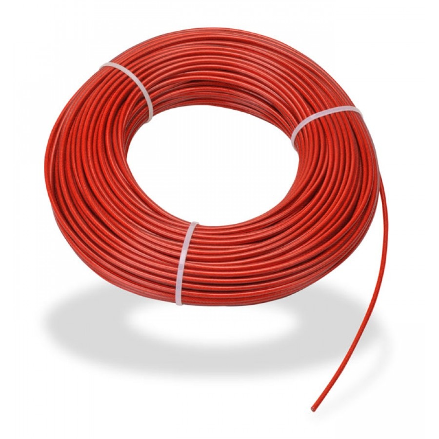 STEEL CABLE 80m (262ft) 4mm DI