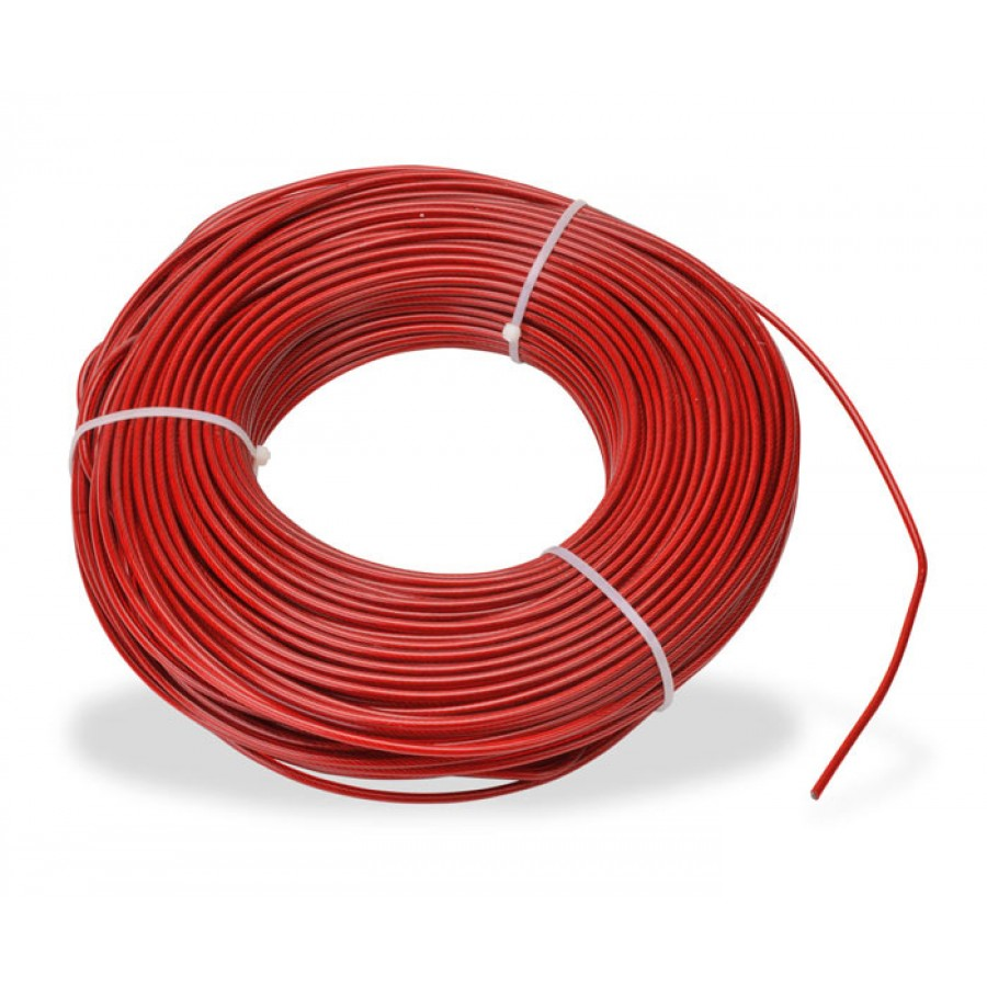 STEEL CABLE 100m (328ft) 4mm D