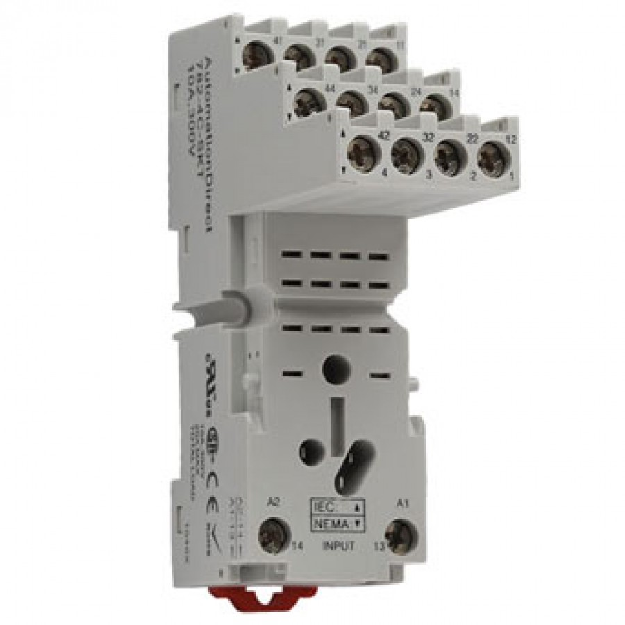 Relay socket for H782 series