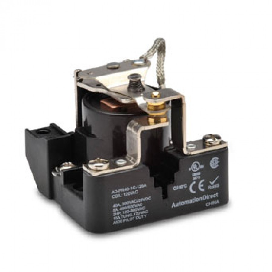 Power relay, 120 VAC