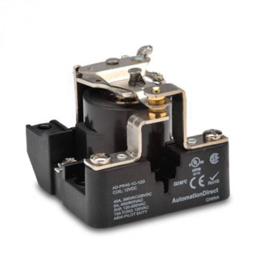 Power relay, 12 VDC