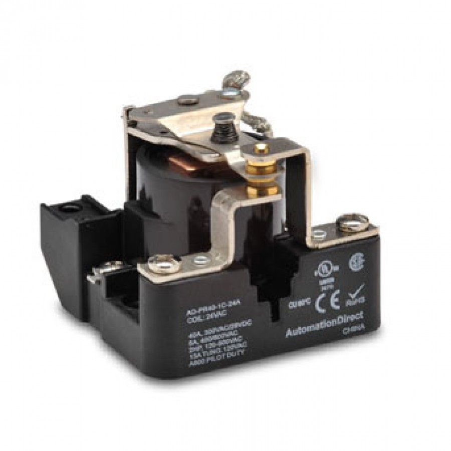 Power relay, 24 VAC