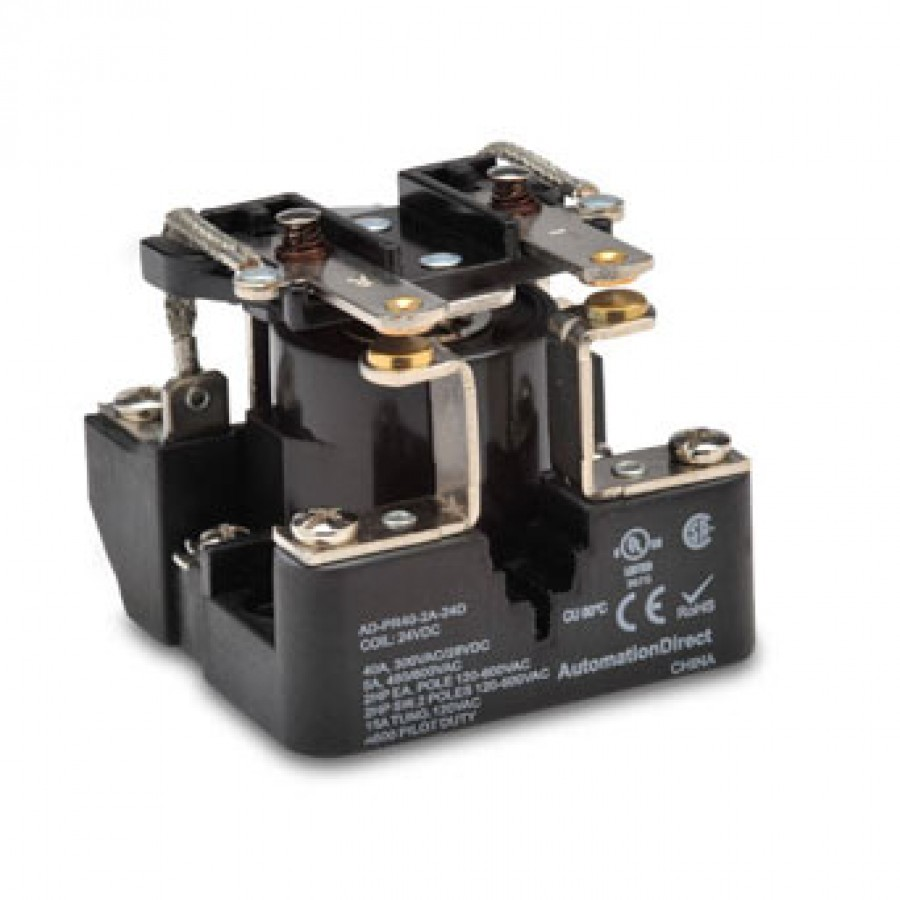Power relay, 24 VDC