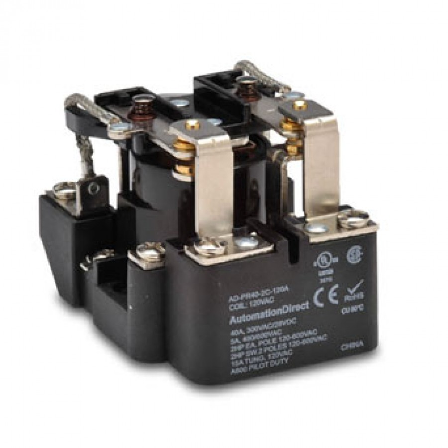 Power relay, 120 VAC