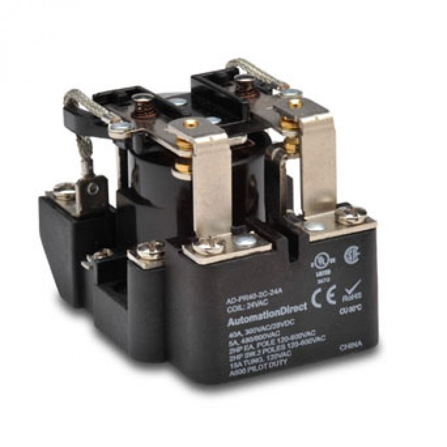 Power relay, 24 VAC