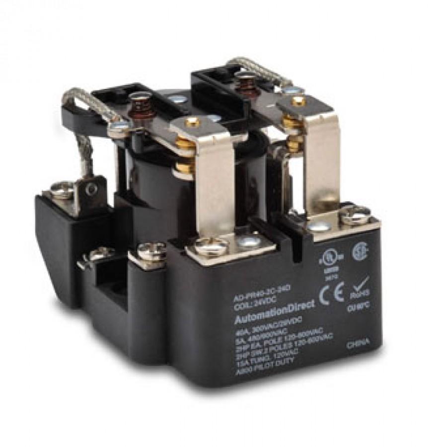 Power relay, 24 VDC