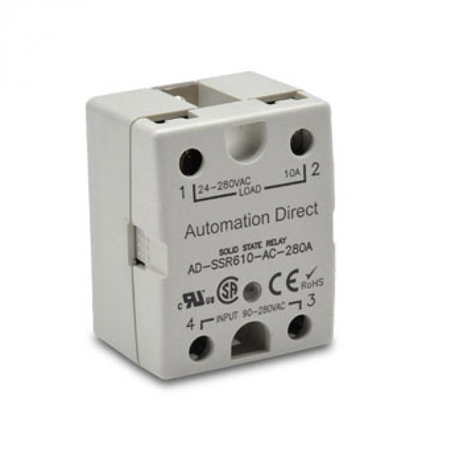 Solid state relay 90-280 VAC