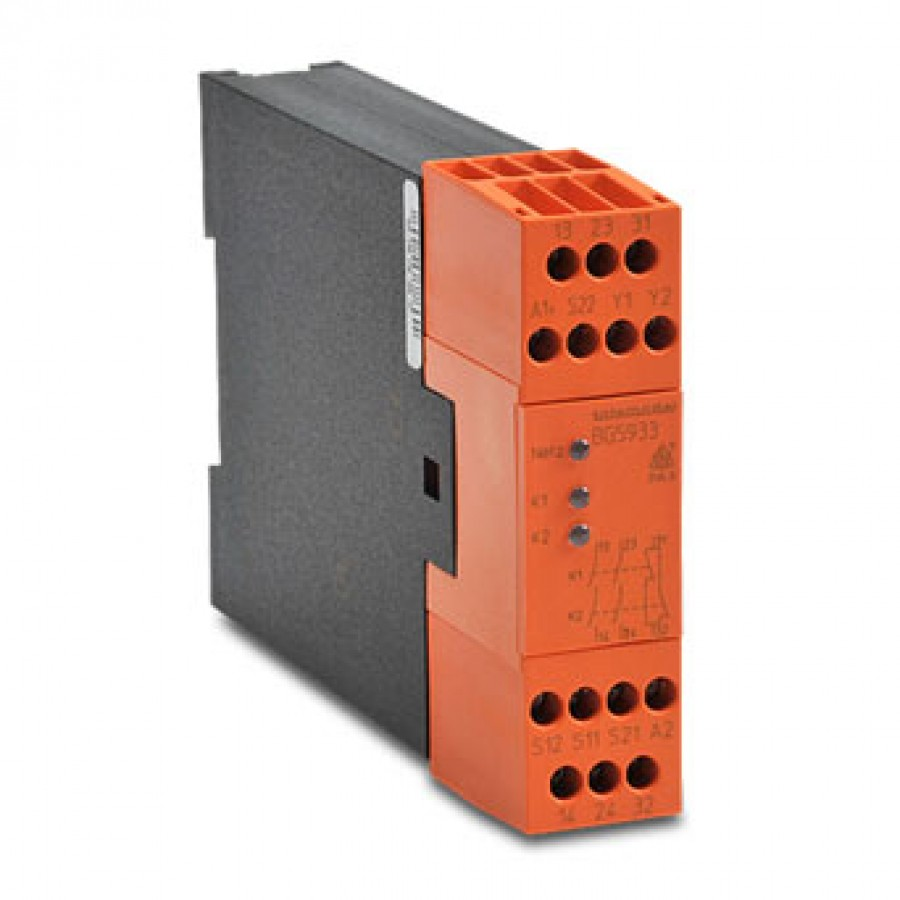 Safety Relay Mod 2 hand contro