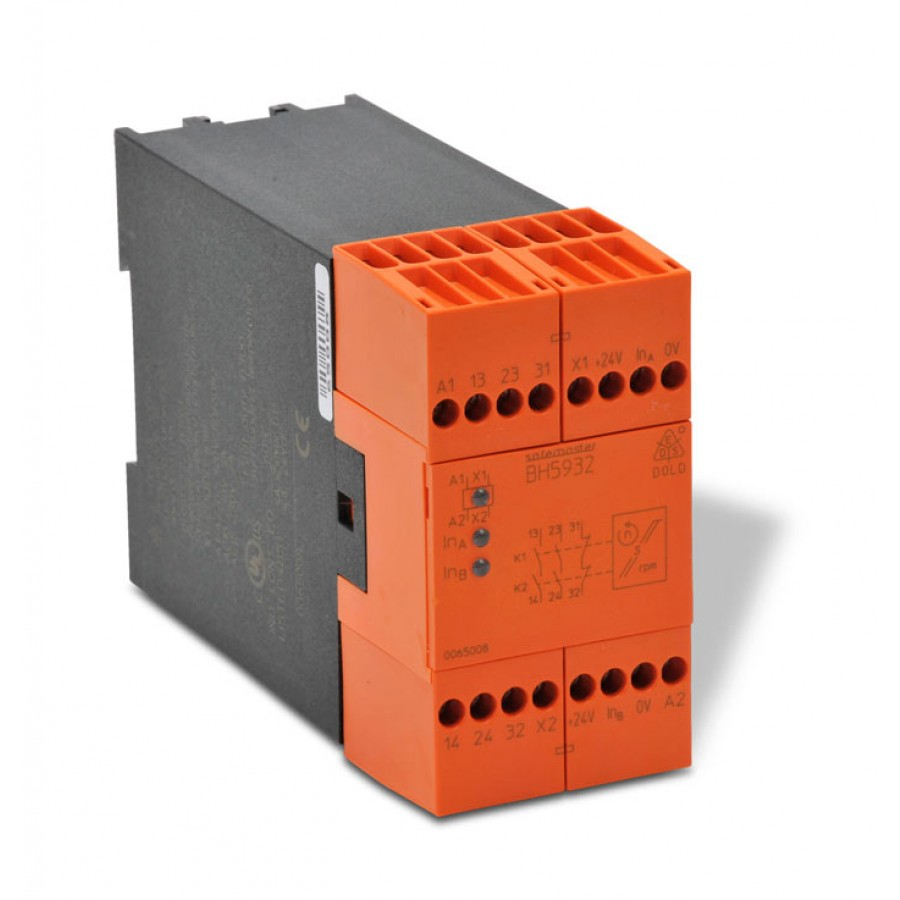 Safety Relay Mod. Spd Mon 110v