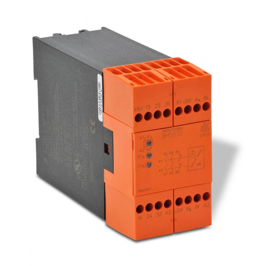 Safety relay mod spd mnit 24v