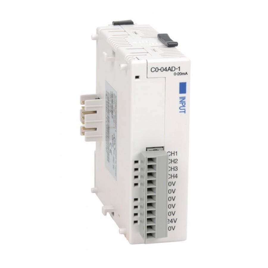 4-channel analog input 0-20mA
