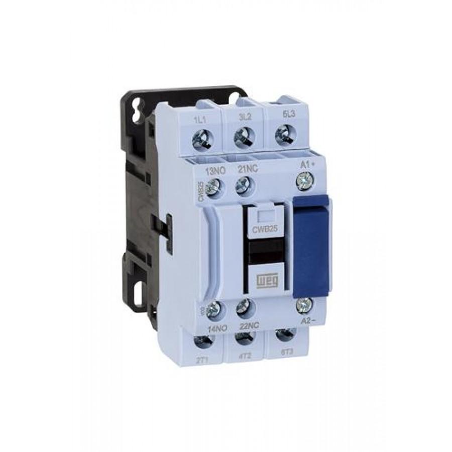25A contactor 3P 24V dc
