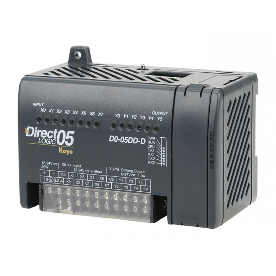 8 DC Inputs/6 DC Out 24vdc