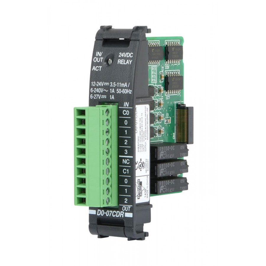 4 In/3 Relay Out Combo Module