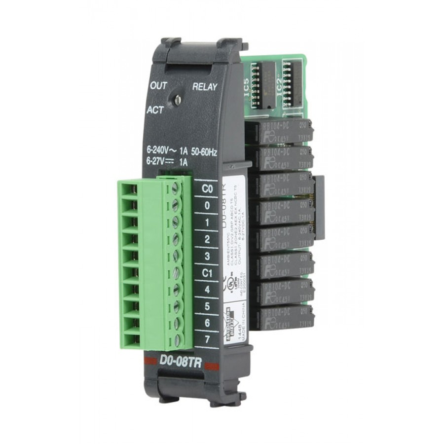 8 Pt Relay Output Module