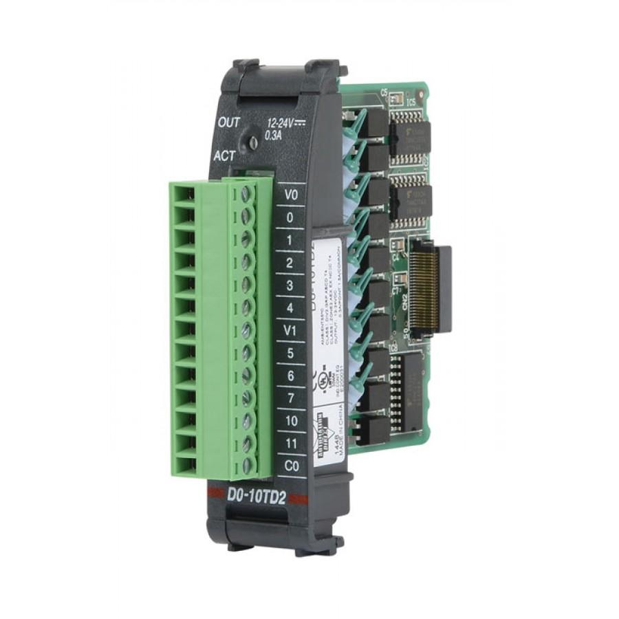 10 Pt 24Vdc Src Output Mod