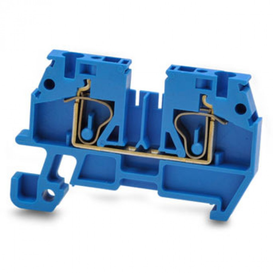 PRODUCT UNAVAILABLE - Screwless T/Blk Blue12-24AWG