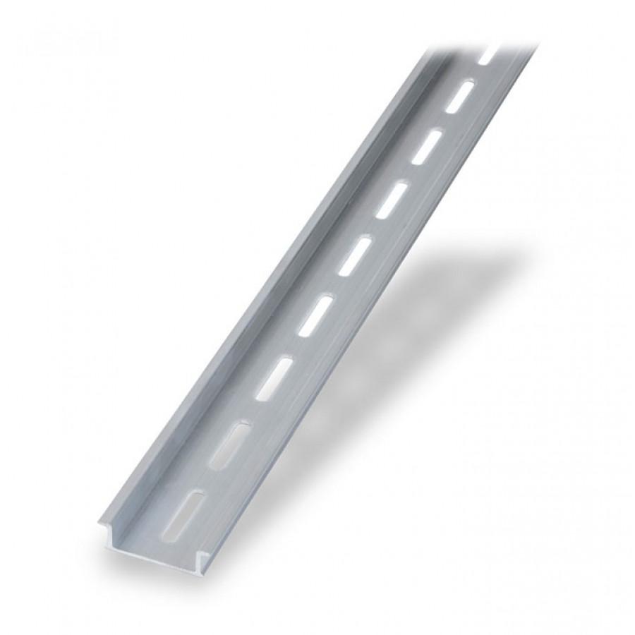 Alum Din Rail 35x10mm 1mt 2pk