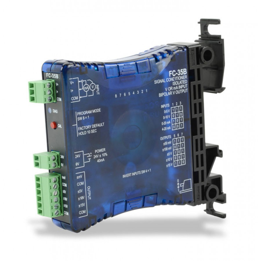 Signal conditioner bipolar out