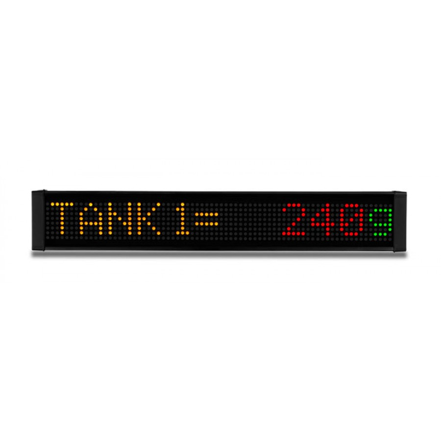 LED message display 1line 12 c
