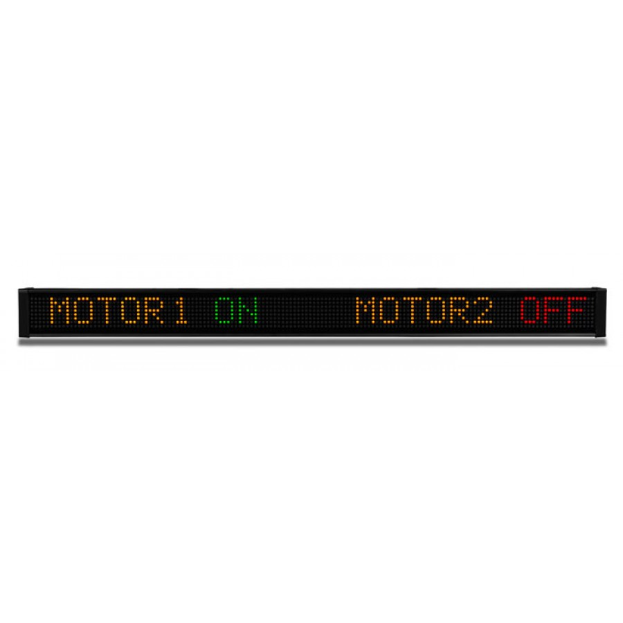 LED message display 1line 24 c