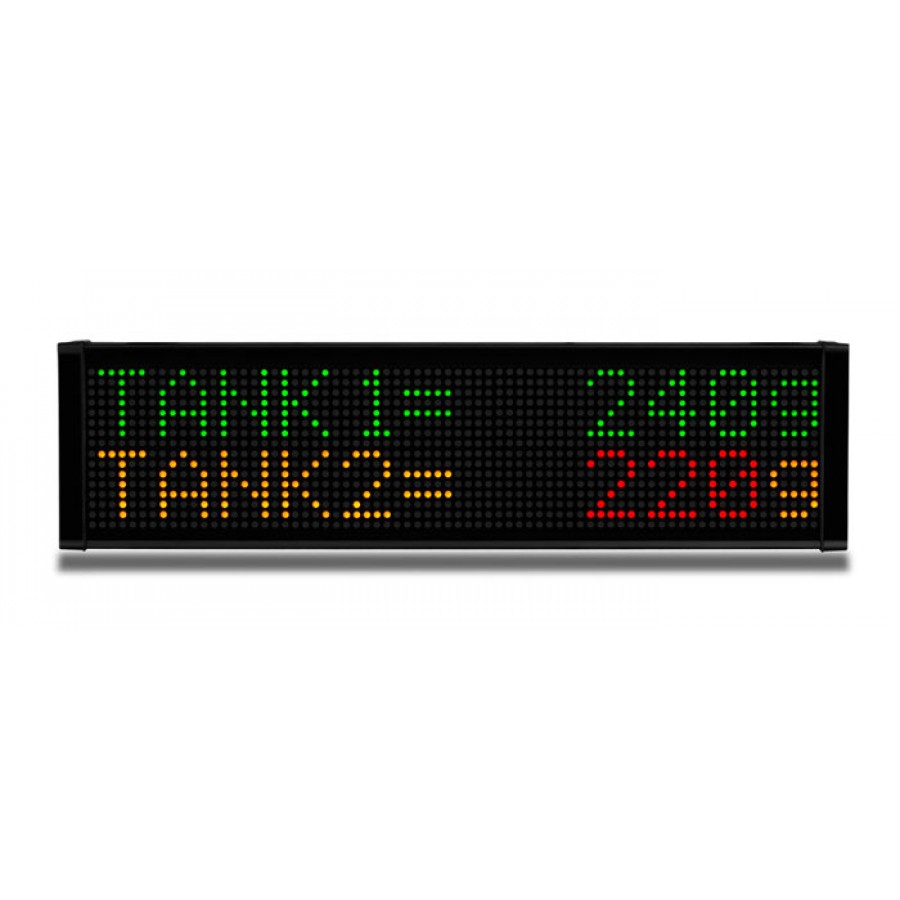 LED message display 2line 12 c