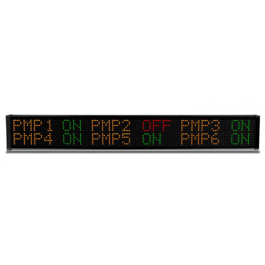 LED message display 2line 24 c