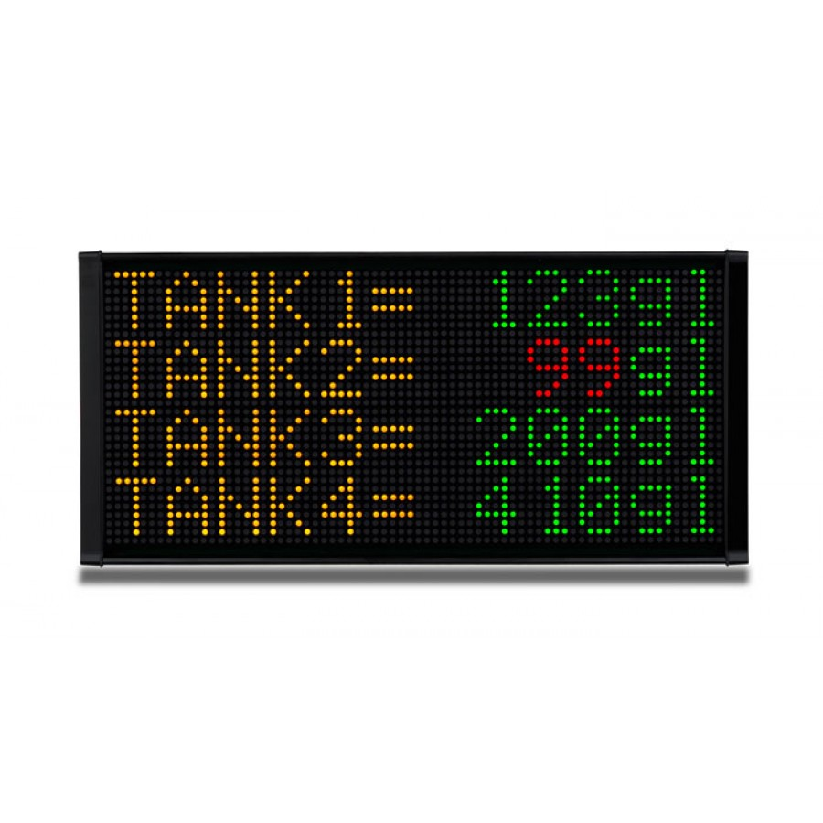 LED message display 4line 12 c