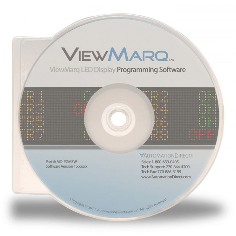Programming software ViewMarq