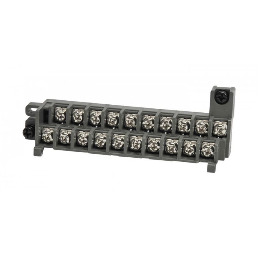 20-pin terminal block 8+16poin