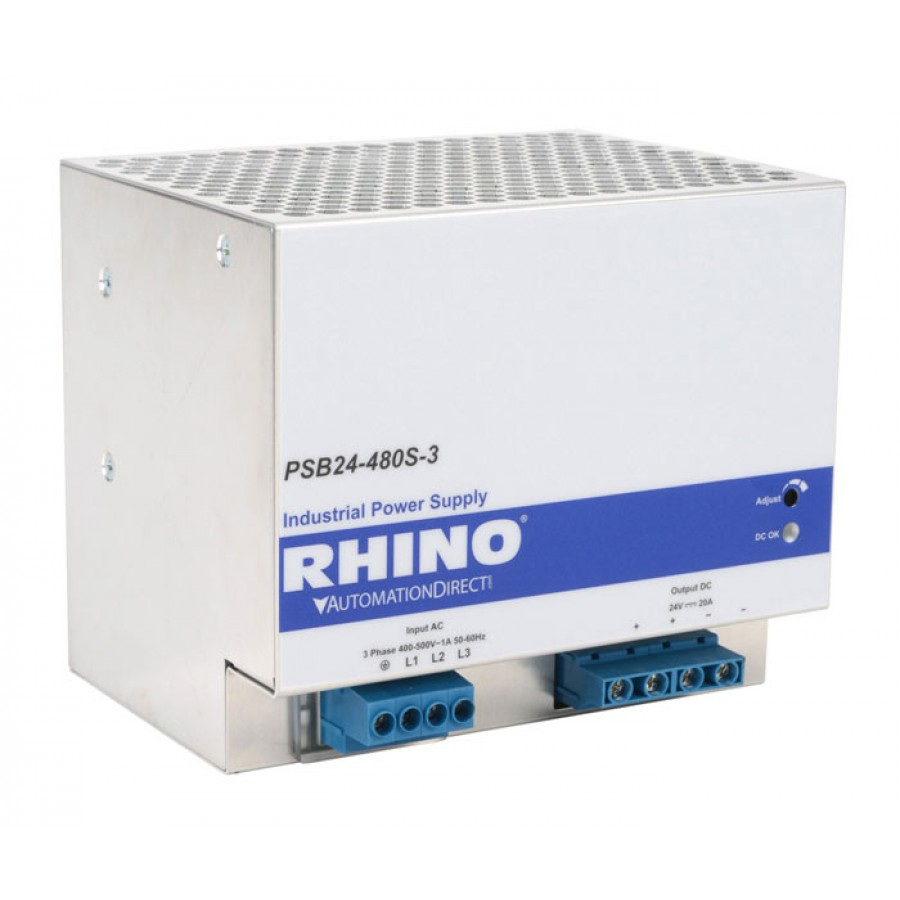 POWER SUPPLY 24VDC 20A 480W