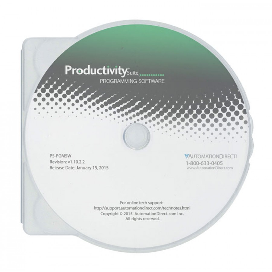 Productivity Suite programming and documentation software - DIRECT