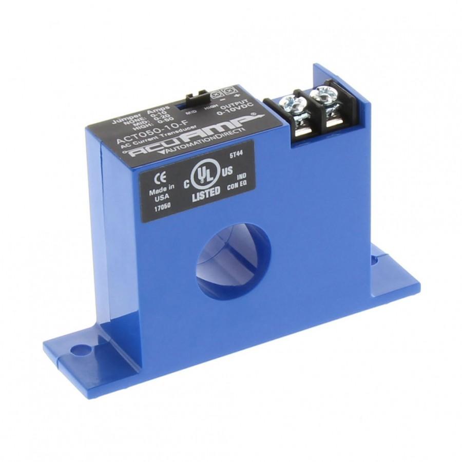 CurrentTransformer 0-50A/10VDC