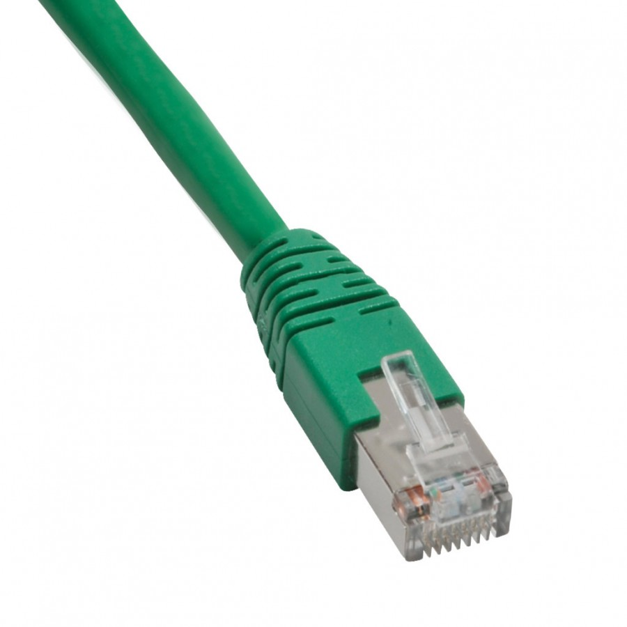 Ethernet Patch Cbl 25ft Green