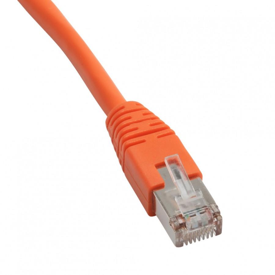 Ethernet Patch Cbl 14ft Orange