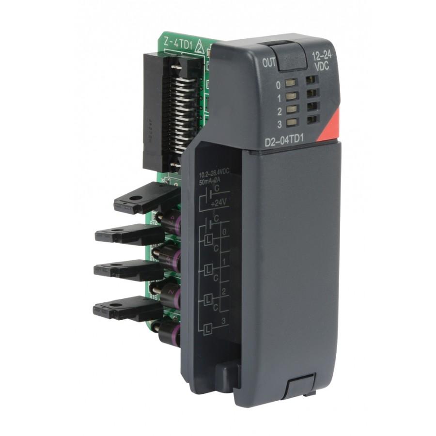 4 pt 12-24vdc Output Card