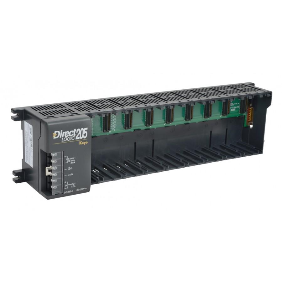 9 Slot 205 Base 110/220 VAC
