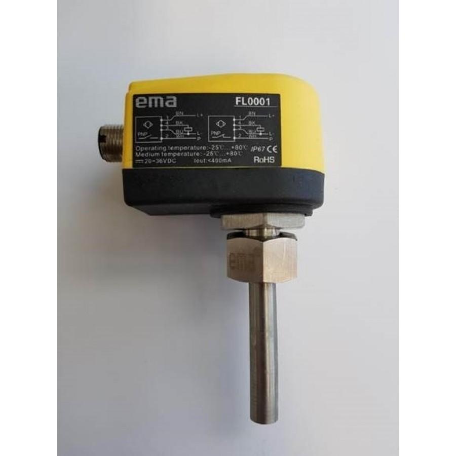Flow sensor, Pot PNP NO 24vdc