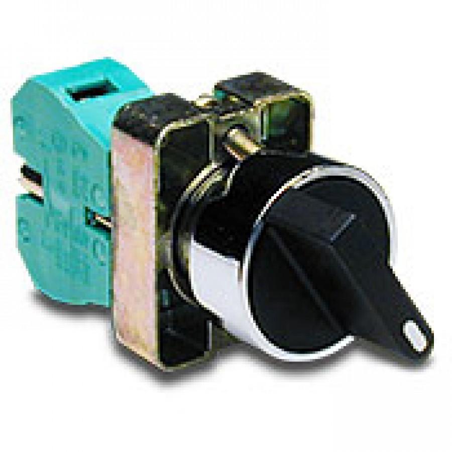 2pos Srblack Knob 1n O 22 Mm Metal Two And Three Position Selector Circuit Push Buttons Lamp