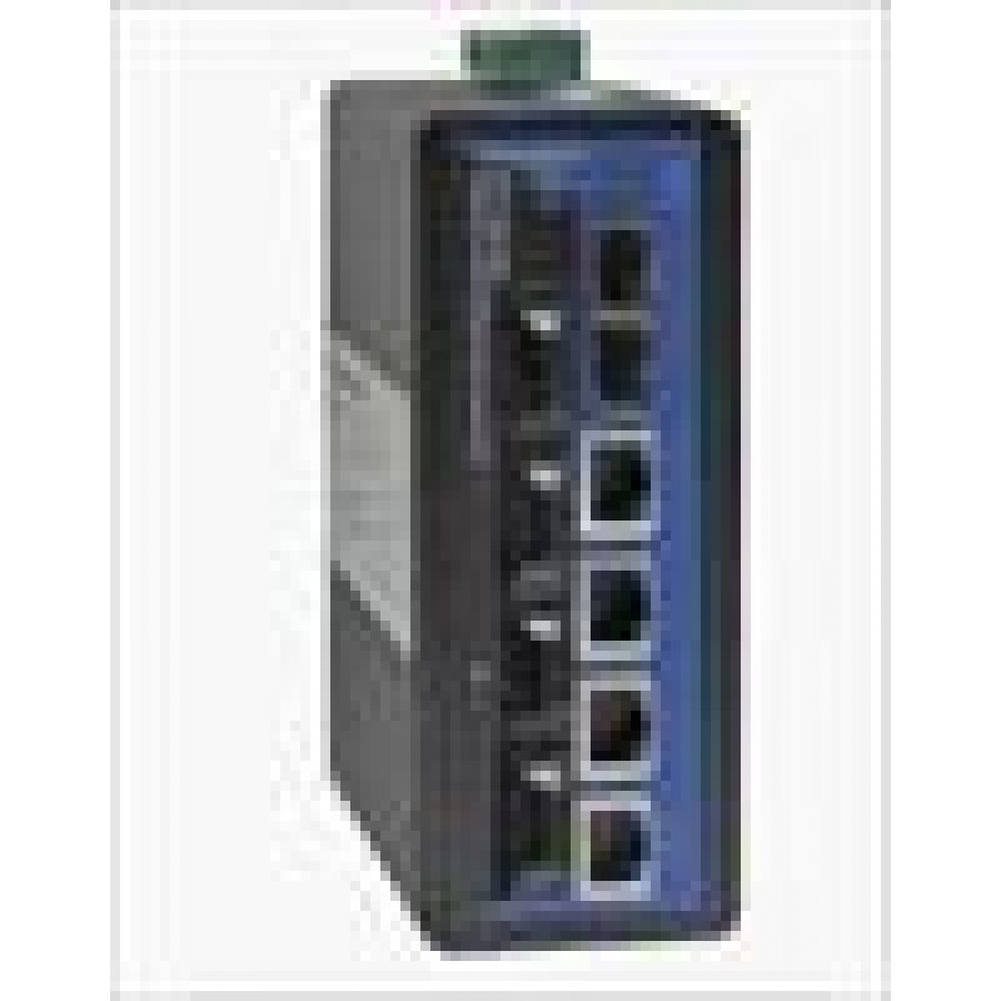4 ports 10/100Base-T(X)+4  ports 100Base-FX Multi-mode