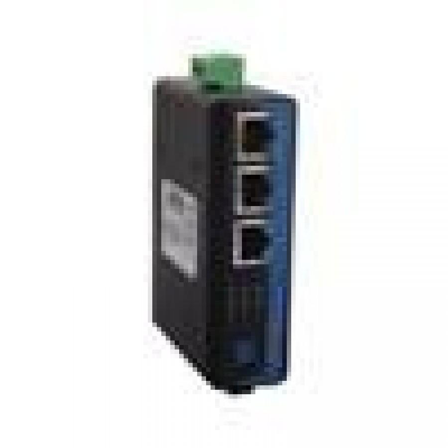 3 ports 10/100Baes-T(X)+2