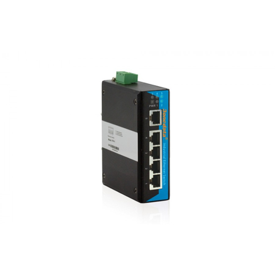 5 ports 10/100Base-T(X), DC12-36VDIN Rail, plug and play, single power supply SmartPak size=5