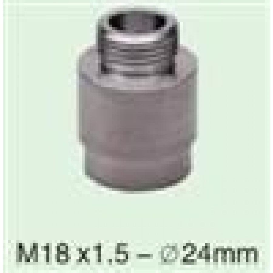 M18 x 1.5 to 24mm