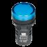 P/light w/LED-Blue 24Vac/dc