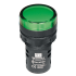 P/light w/LED-Green 24Vac/dc